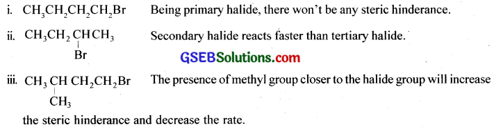 GSEB Solutions Class 12 Chemistry Chapter 10 Haloalkanes and Haloarenes 8