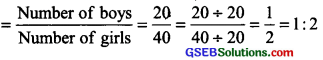 GSEB Solutions Class 6 Maths Chapter 12 Ratio and Proportion intext questions img 1