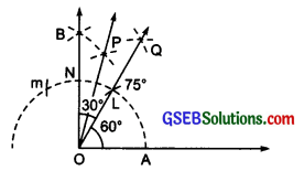 GSEB Solutions Class 6 Maths Chapter 14 Practical Geometry Ex 14.6 img 1