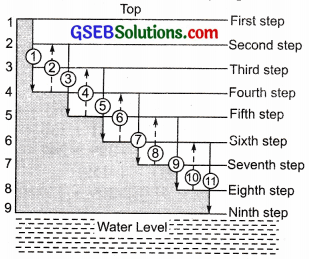 GSEB Solutions Class 7 Maths Chapter 1 Integers Ex 1.1 10