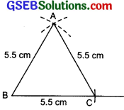 GSEB Solutions Class 7 Maths Chapter 10 Practical Geometry Ex 10.2 2