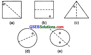GSEB Solutions Class 7 Maths Chapter 14 Symmetry Ex 14.1 3