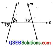 GSEB Solutions Class 7 Maths Chapter 5 Lines and Angles Ex 5.2 9