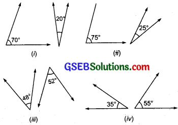 GSEB Solutions Class 7 Maths Chapter 5 Lines and Angles InText Questions 1