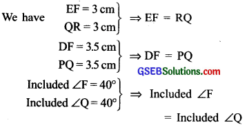 GSEB Solutions Class 7 Maths Chapter 7 Congruence of Triangles InText Questions 16