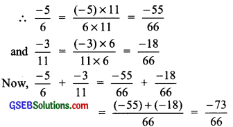 GSEB Solutions Class 7 Maths Chapter 9 Rational Numbers InText Questions 5