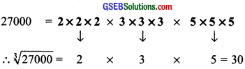 GSEB Solutions Class 8 Maths Chapter 7 Cube and Cube Roots Ex 7.2 img 4