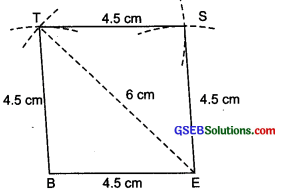 GSEB Solutions Class 8 Maths Chapter Chapter 4 Practical Geometry Ex 4.1