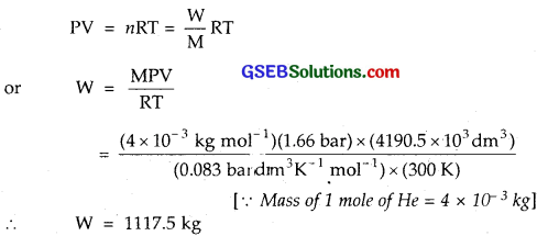 GSEB Solutions Class 11 Chemistry Chapter 5 States of Matter 7