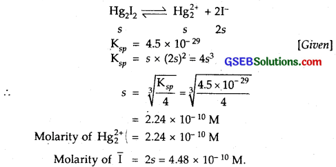 GSEB Solutions Class 11 Chemistry Chapter 7 Equilibrium 58