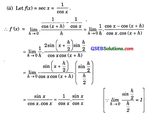 GSEB Solutions Class 11 Maths Chapter 13 Limits and Derivatives Ex 13.2 img 15