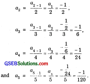 GSEB Solutions Class 11 Maths Chapter 9 Sequences and Series Ex 9.1 img 2