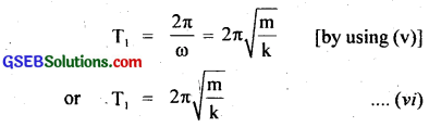 GSEB Solutions Class 11 Physics Chapter 14 Oscillations img 16