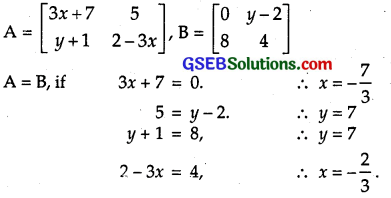 GSEB Solutions Class 12 Maths Chapter 3 Matrices Ex 3.1 6
