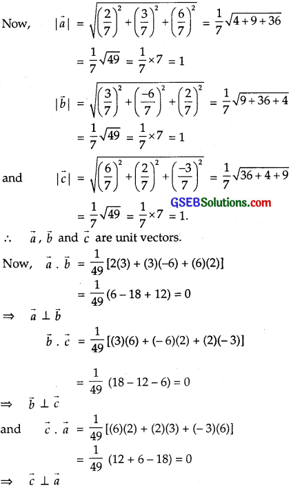 GSEB Solutions Class 12 Maths Chapter 10 Vector Algebra Ex 10.3 img 3