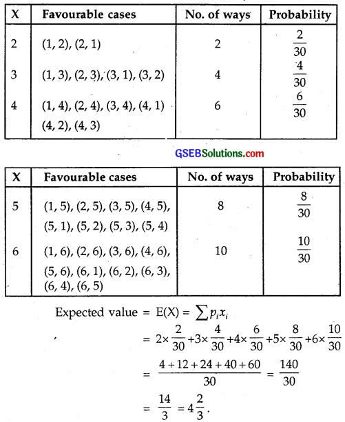 GSEB Solutions Class 12 Maths Chapter 13 Probability Ex 13.4 img 17