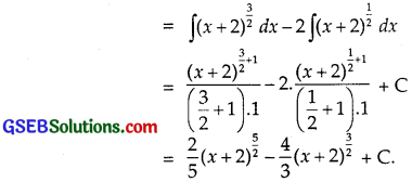 GSEB Solutions Class 12 Maths Chapter 7 Integrals Ex 7.2 img 6