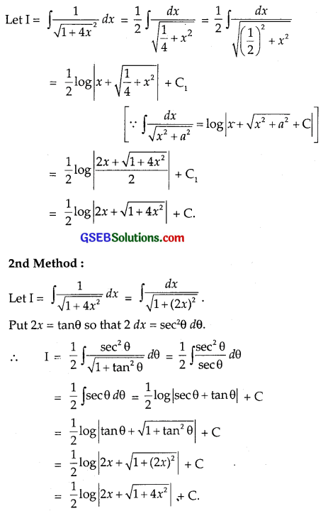 GSEB Solutions Class 12 Maths Chapter 7 Integrals Ex 7.4 img 2
