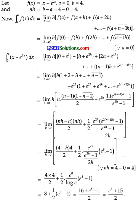 GSEB Solutions Class 12 Maths Chapter 7 Integrals Ex 7.8 img 6