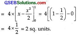 GSEB Solutions Class 12 Maths Chapter 8 Application of Integrals Miscellaneous Exercise img 23