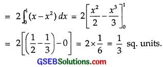 GSEB Solutions Class 12 Maths Chapter 8 Application of Integrals Miscellaneous Exercise img 25