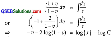 GSEB Solutions Class 12 Maths Chapter 9 Differential Equations Ex 9.5 img 3