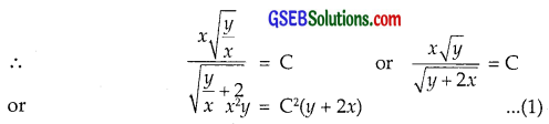 GSEB Solutions Class 12 Maths Chapter 9 Differential Equations Ex 9.5 img 48