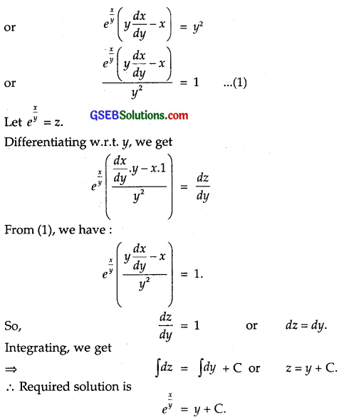 GSEB Solutions Class 12 Maths Chapter 9 Differential Equations Miscellaneous Exercise img 12