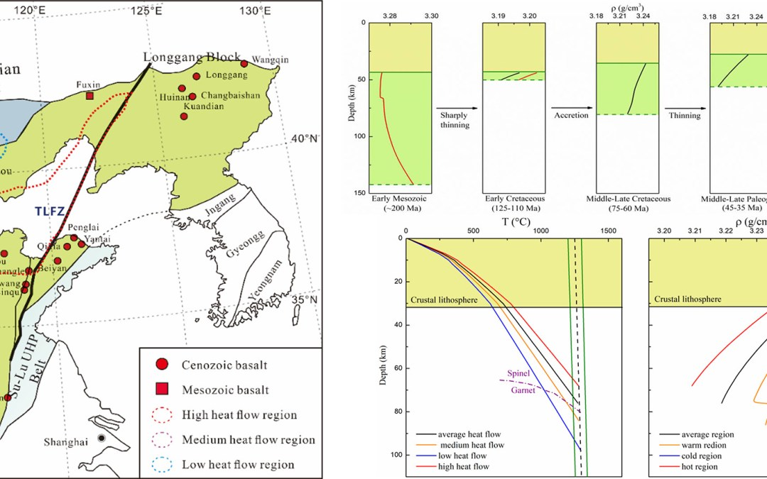 Constraining the Density Evolution During Destruction of the Lithospheric Mantle in the Eastern North China Craton