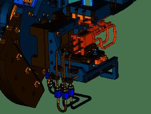 13-ID-E monochromator crystal cage