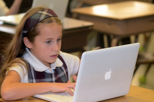 Tech in the Classroom. Past Fund-a-Need initiatives have gone to increase the school's in-class use of technology.