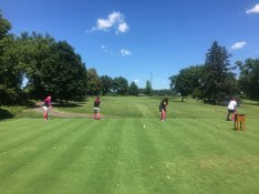 Fore! For two straight years, our community has teed it up at Golden Valley Country Club for the Good Shepherd Golf Tournament fundraiser.