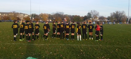 Soccer Squad. Sporting events are a regular aspect of our students' lives, as the school offers soccer, basketball, and volleyball among its many after-school activities.