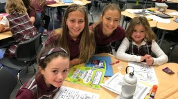 The Buddy Program. Good Shepherd students learn the value of mentorship and leadership as part of the school's Buddy Program that matches up students from different grades.