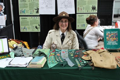 """Susan """"Daisy"""" Ducey at the Patent and Trademark Expo, 2012"""