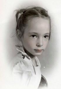 Dorothy Angel as a child (Dorothy Angel Tenney)