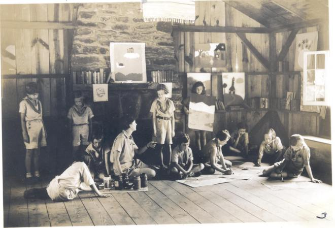 Girl Scout camp, Girl Scout History Project