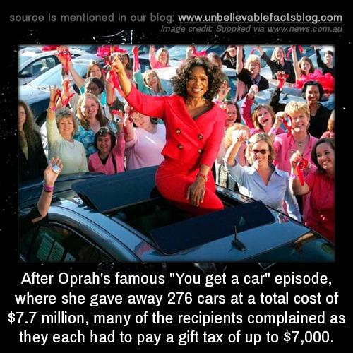 oprah car
