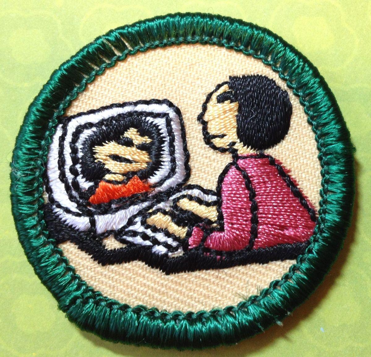 computer badge