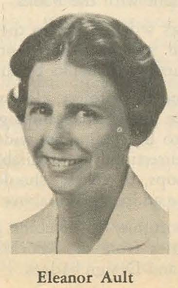 Girl Scout worker Eleanor Ault