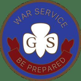war service pin 1