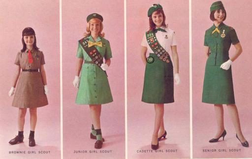 1966 Girl Scout uniform