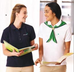 Adult casual uniform optios