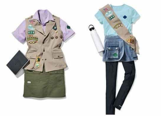 new girl scout uniforms