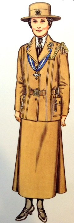 """Juliette Gordon Low paper doll from """"On My Honor"""" by Kathryn McMurtry Hunt and Lynette C. Ross."""