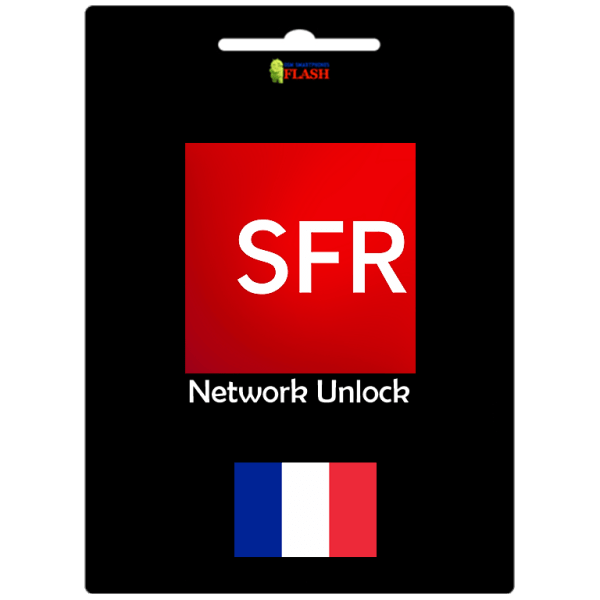 France SFR clean network unlock imei service
