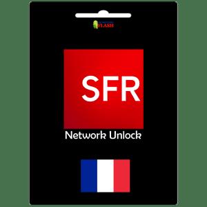 France SFR clean network unlock imei service