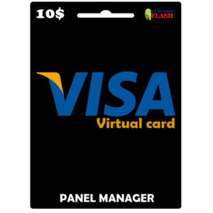 Prepaid Virtual Visa Card 10 USD (works worldwide)