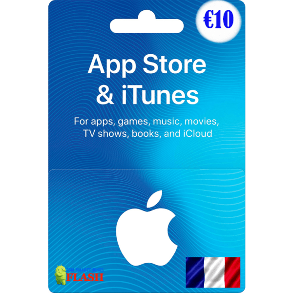 iTunes Gift Card 10 EURO France (FR)