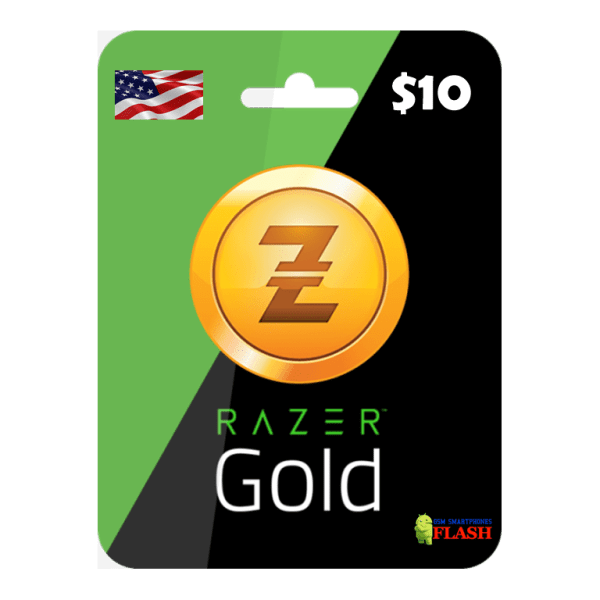 Razer Gold 10 USD Card Email Delivery (Rixty)